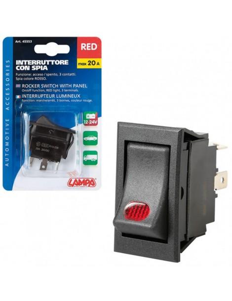 Interruptor Luminoso 12 V / 24 V