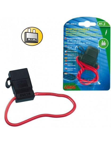 Porta Fusible PVC 10 / 30 A Cable 30 CM