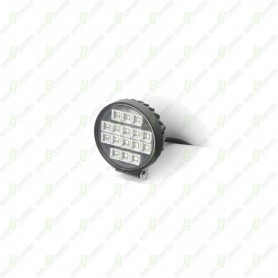 Faro De Trabajo LED Con Interruptor Redondo 27 Watios.