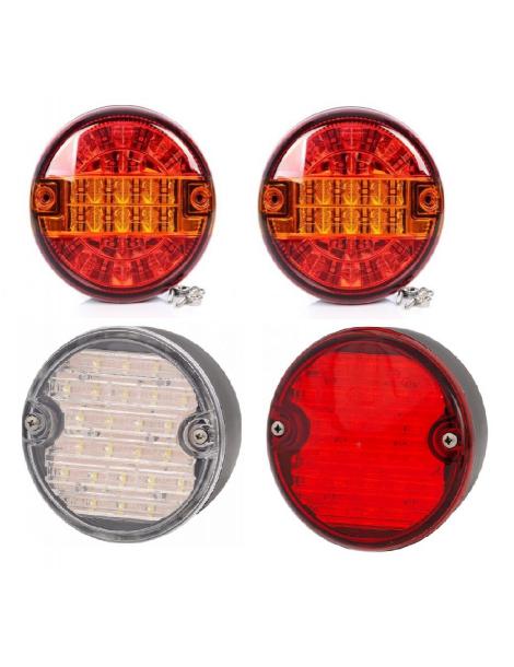 Packs De 4 Piloto LED 24V & 12V Bitension