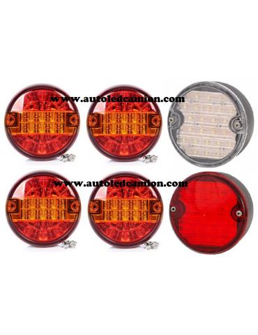 Packs De 6 Piloto LED 24V & 12V Bitension