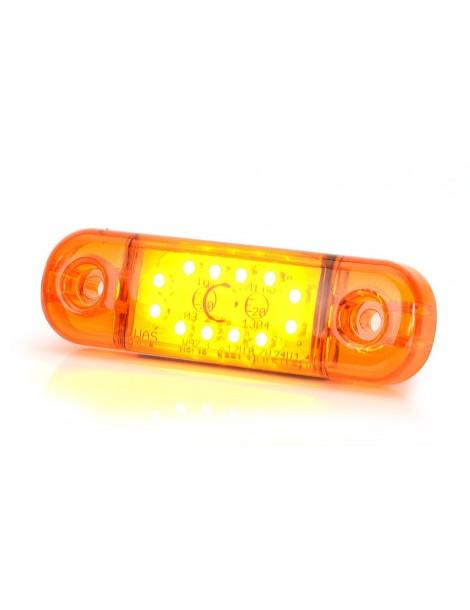 Piloto Posición Was 12 LED ( Naranja ).