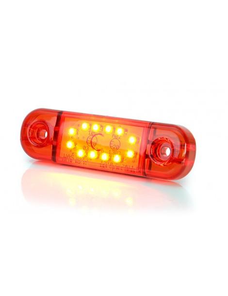Piloto Posición Was 12 LED ( Rojo ).