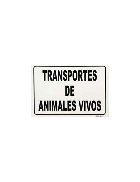 """Placa para vehiculos """"Animales Vivos"""""""