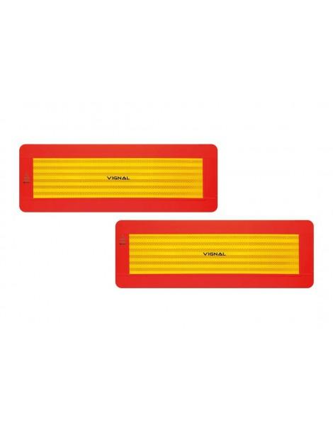 Juego Placas Remolques Adhesivos  ECE 70/01.