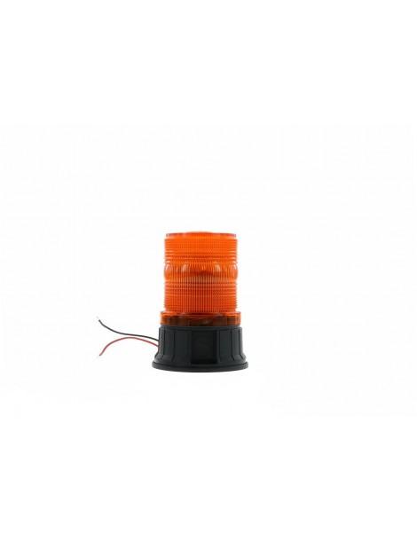 Baliza Giratoria LED PUCK, Atornillable, Ambar,Luz DOBLE FLASHh