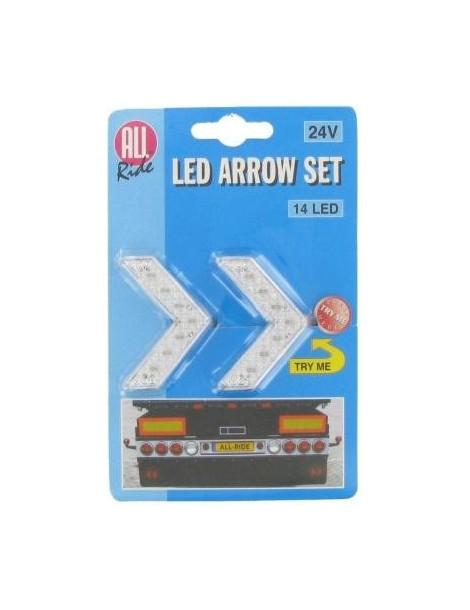 Flecha LED  Blanco